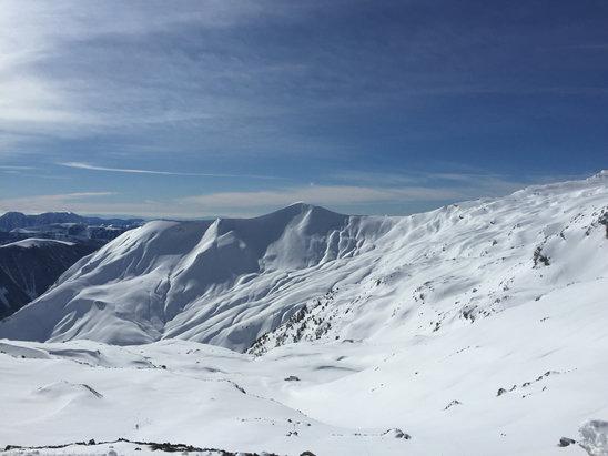 Val d'Allos - La Foux - Neige fraîche temp magnifique  - © Ah Toi aussi va tu et im