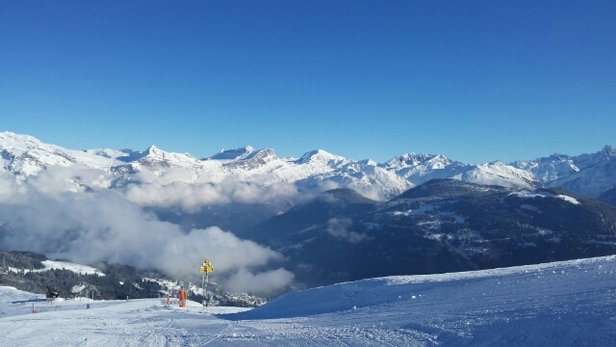 Saint Gervais Mont-Blanc - earlier this morning, lots of sunshine!  - © z.mikloss