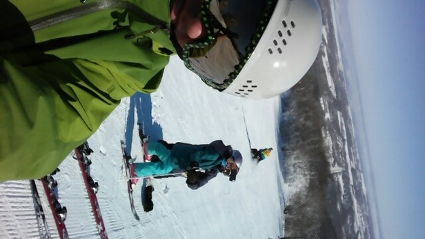 Blue Mountain - Great conditions on Sunday after Saturday's big dump of freshie! - © brode19