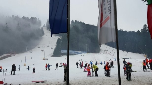 Borovets - view from ice angels 