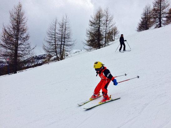 Val d'Allos - La Foux - Neige au top cette semaine!  - © Pixim's iPhone