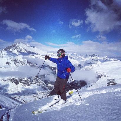 Skiarena Andermatt-Sedrun - [! skireport_firsthandpost_pagetitle ] - © Tords iPhone
