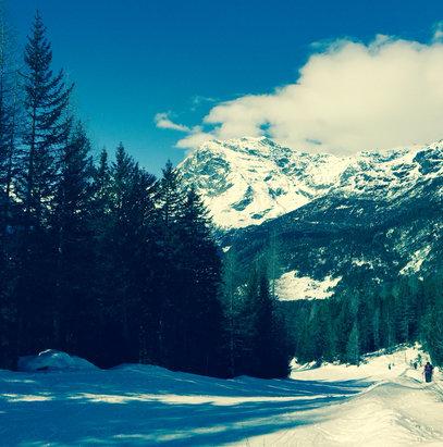 Chiesa Valmalenco - Bellissima giornata, ottima neve - © iPhone di Giuseppe