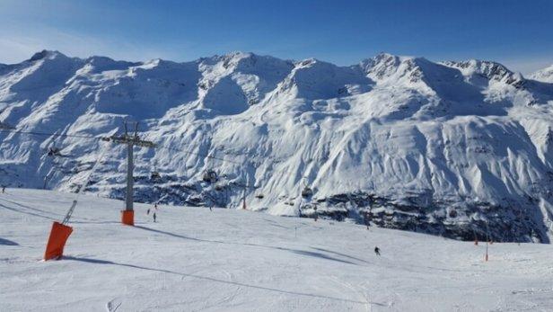 Obergurgl-Hochgurgl - great conditions and pretty quiet - max queue length 2 minutes - © steve