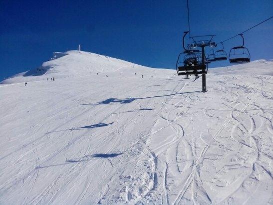 Corno alle Scale - 20/02 giornata primaverile neve bellissima!!!!  - © davidscara70