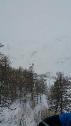 Val d'Allos - La Foux - Journée au top malgré la météo (il a neiger toute la journée )  - © melaniie06100