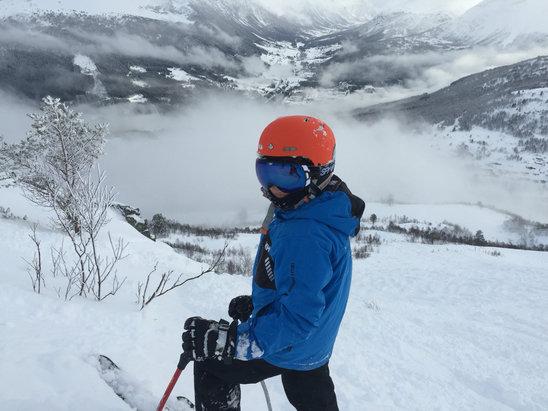 Stranda Skisenter - [! skireport_firsthandpost_pagetitle ] - © Espen sin iPhone (2)