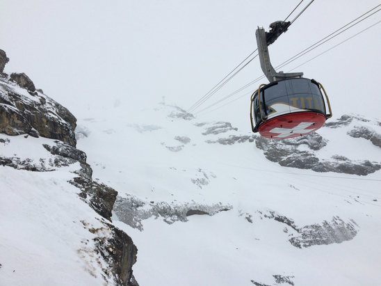 Engelberg - Starting to snow, pistes in good shape - © GST