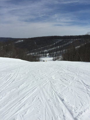 Holiday Valley - Top of Yodeler - © Thanks for the daily sho