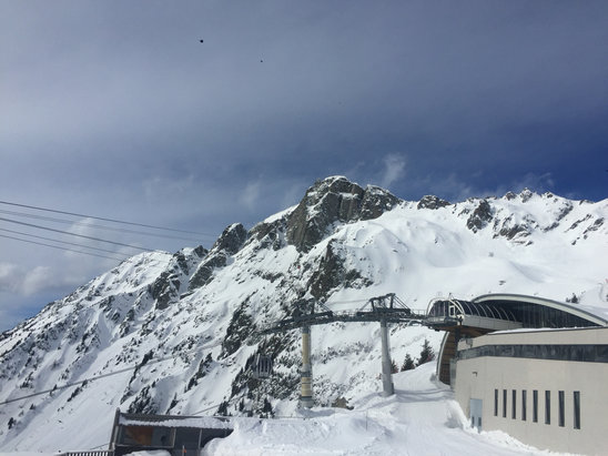 Chamonix Mont-Blanc - En liten solglimt iaf  - © Joakims iPhone