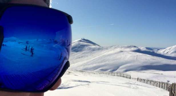 Glenshee - [! skireport_firsthandpost_pagetitle ] - © Barry's Iphone