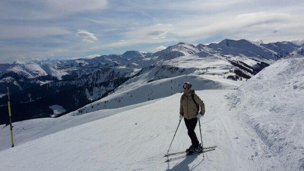 Ski Juwel Alpbachtal Wildschönau - Samstag super Wetter und Schnee.  - © nigohte