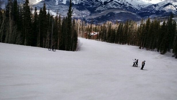 Telluride - Nice spring day; tons of sun but also a bunch of slush that turned to ice by 3 or so. - © aajohn64