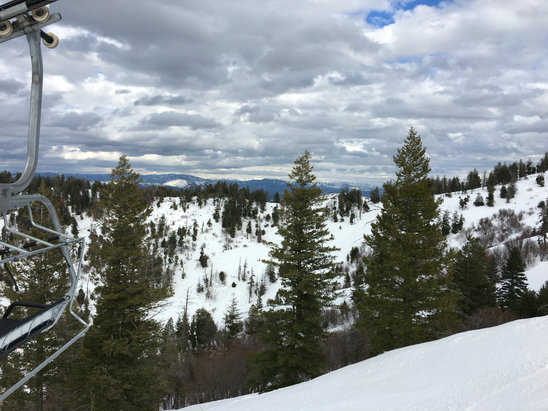 Bogus Basin - The snow wasn't the best but it was so beautiful. - © Tom Young's iPhone