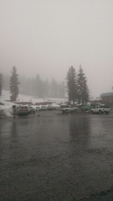 Mount Shasta Board & Ski Park - well it is raining and I mean raining.  Not a great day but it is going to snow tonight. maybe 2 feet get ready it is going to happen  - © 1098alan