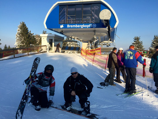 Winterberg Skiliftkarussell - Firsthand Ski Report - ©iPhone de Jorge luis
