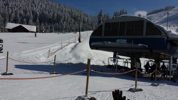 La Bresse Hohneck - LA journée de la saison a ne pas rater! personne sur les pistes et neige fraiche en abondance - © playmo88
