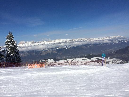 Les 7 Laux - Temps radieux, neige au top...  - © David