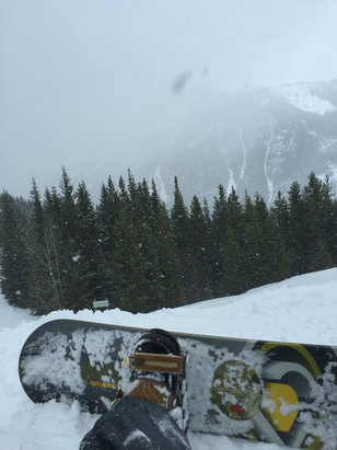 Panorama Mountain - Great day on some fresh snow. It was snowing pretty good today too.  - © Rocky