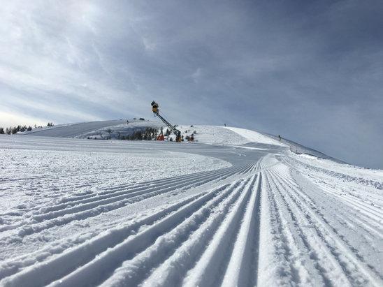 Passo Brocon-Marande (Funivie Lagorai) - [! skireport_firsthandpost_pagetitle ] - © iPhone