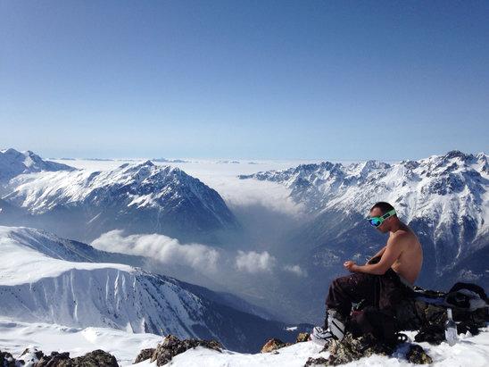 Alpe d'Huez - Besos a los kickitos ;) - © Gadzitos