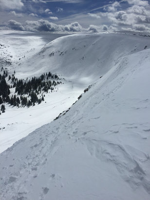 Winter Park Resort - Shot of Cirque bowl (everything was open today). WP had about 3