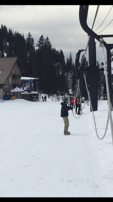 Alta Ski Area - More snowboarders 