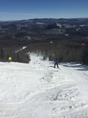 Tremblant - Conditions are good for this time of year. Lots of runs open. In fact yesterday I think the entire hill was open.  - © nigel's iPhone