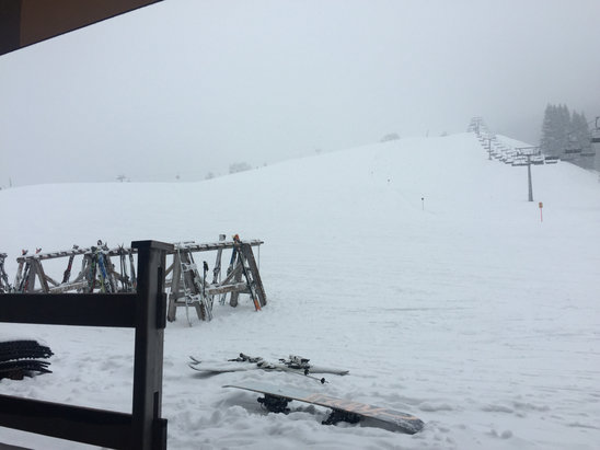 Söll - SkiWelt - Snowed from 10 till 4 today. Hopefully piste bashers will sort out runs for tomorrow.  - © MiniTec Mark