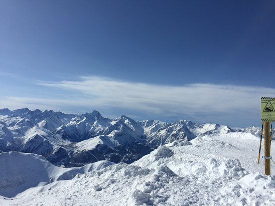 Alpe d'Huez - [! skireport_firsthandpost_pagetitle ] - © iPhone de ZiZou