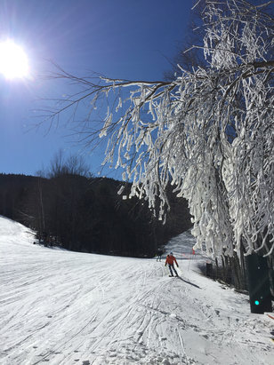 Sunday River - [! skireport_firsthandpost_pagetitle ] - © Zbigniew's iPhone 6