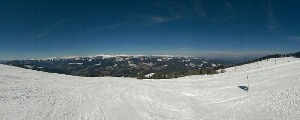 Gerlitzen - excellent conditions and beautiful weather - © Tomislav
