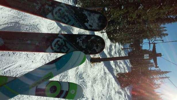 Winter Park Resort - Last chair on C lift. Bluebird Colorado day - ©alejandrogetty????