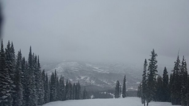 Aspen / Snowmass - Thank you for the new snow otherwise ice pack underneath, still coming down tonight! - © lildiaz72