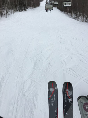 Mont Sainte Anne - [! skireport_firsthandpost_pagetitle ] - © Chris Iphone