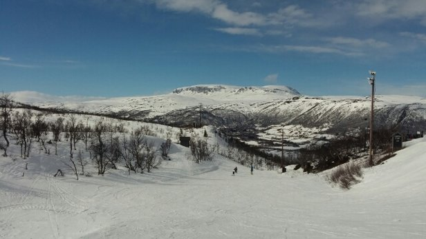 Geilo - Warm temperature with strong winds  - © TheRacer