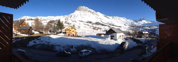 Albiez Montrond - Super station familiale que je recommande grandement.  - © iPhone de NotAxel