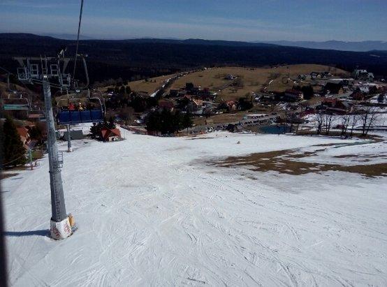 Zieleniec Ski Arena - da sie jezdzic  - © gzaba855