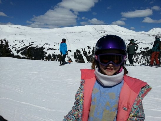 Loveland - Had a great day here.  Awesome that a beginner can go to the top and ski a bowl. - © kmcc123fairview