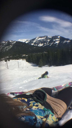 The Summit at Snoqualmie - made our own hawaii day with some park laps and mashed potatoe snow - © Aileen Phone