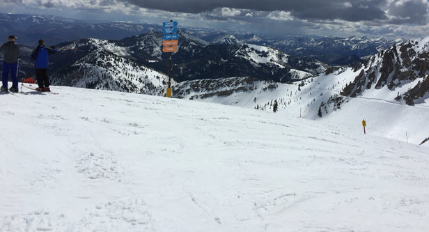 Snowbird - Excellent conditions. Spring skiing but not too soft. Many groomed trails.  - © iPhone (2)