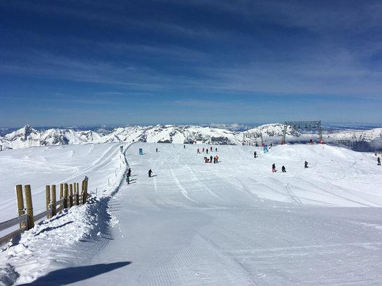 Les 2 Alpes - Journée de folie neige à gogo puff o top!!! - © iPhone de Marion
