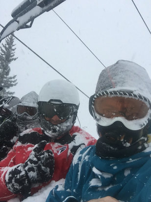 Winter Park Resort - Wonderful conditions.   - ©Eduardo's iPhone