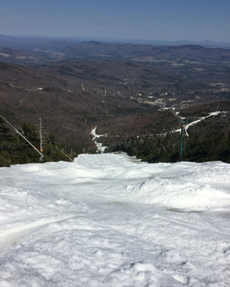 Sugarbush - Grinder was awesome Sun! - © Jeffrey's phone