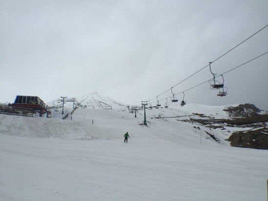 El Colorado - Firsthand Ski Report - ©tiago's iPhone