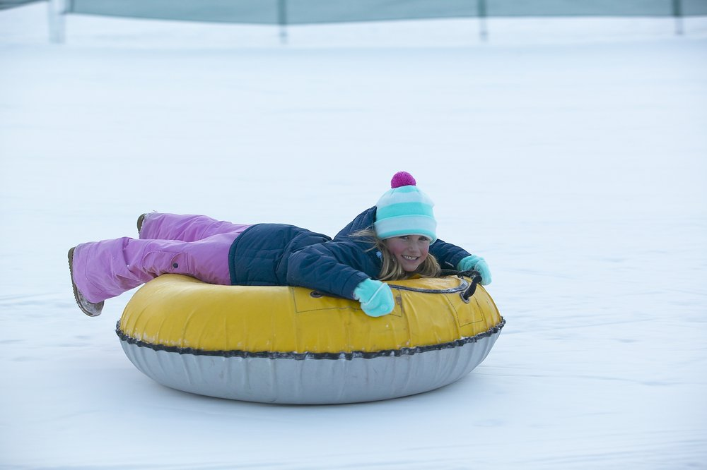 Tubing at Beaver Creek, CO. Image by Greg Costanza.