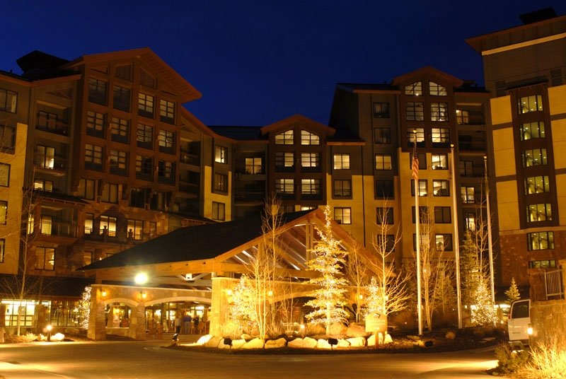 """Escala at night. Credit Required:  """"Photo by Kirk Gunn, courtesy of The Canyons Resort"""""""