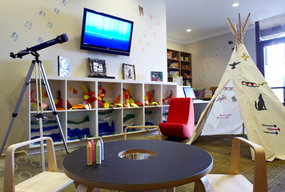Inside the Beaver Creek Westin KidsClub