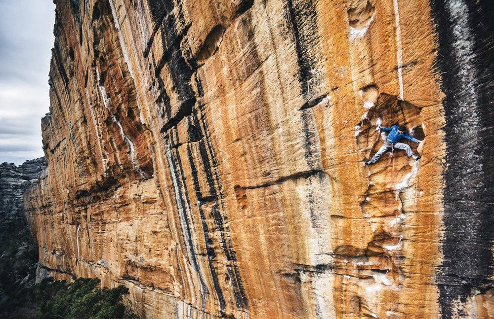 Entspannte Klettersession von Wiz Fineron in den Grampians (AUS) - ©Red Bull Illume | Ken Etzel