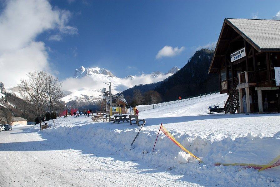 Lus la Jarjatte, petit paradis des apprenti skieurs et des familles - © Office de Tourisme du Pays Diois